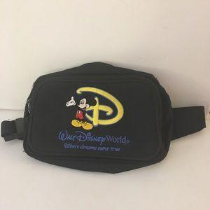 Walt Disney World Fanny Pack Black